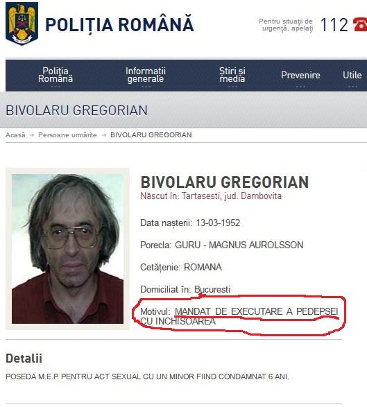urmarit politia romana